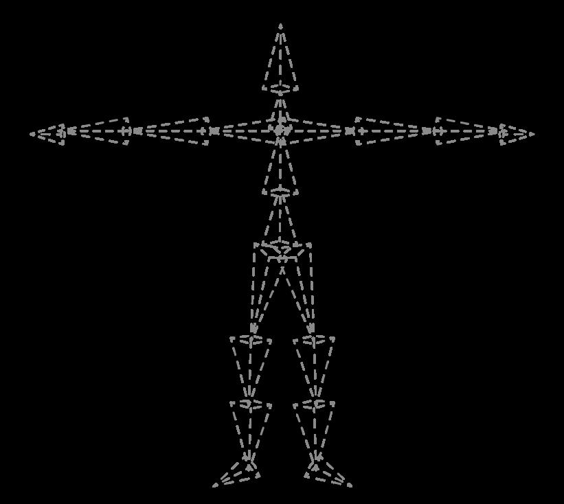 Diagram of standard rig