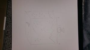Cube Lamp Sketch